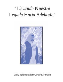 """""""Llevando Nuestro Legado Hacia Adelante"""" la Diócesis?"""
