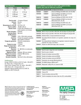 Detector Multigas ALTAIR® 4