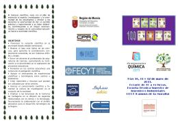 Programa - Universidad Politécnica de Cartagena