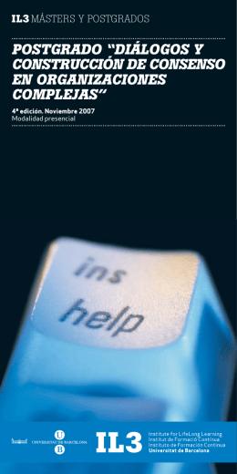 Postgrado Mediacion Organizaciones Salud ESP.FH11