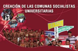 Folleto creacion comunas socialistas