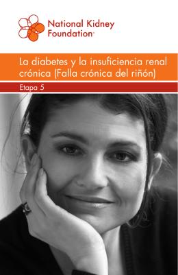 La diabetes y la insuficiencia renal crónica (Falla crónica del riñón)