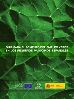 guía para el fomento del empleo verde en los