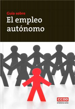 Guía sobre el Empleo Autónomo. Confederacióm Sindical de CCOO