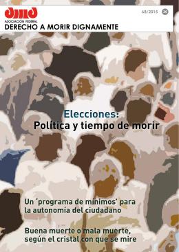 Elecciones: - Asociación Derecho a Morir Dignamente