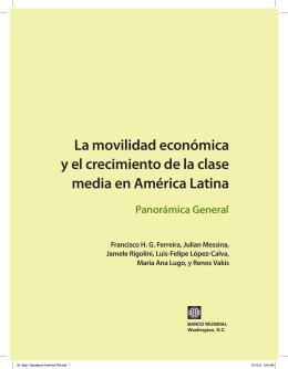 clase media en América Latina - World Bank Internet Error Page