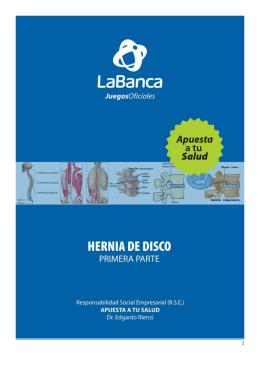 Hernia de disco. Primera parte