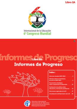 Informes de Progreso - Education International