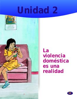 La violencia doméstica es una realidad