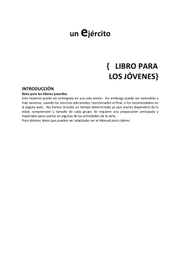 LIBRO#PARA# LOS#JÓVENES - Salvation Army Connects