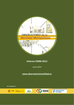 Informe_OMM2012 - Universidad Politécnica de Valencia