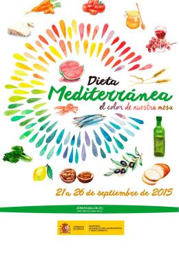 Programa Semana de la Dieta Mediterránea 2015
