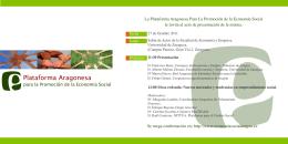 folleto invitación seminario plataforma