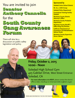South County Gang Awareness Forum South