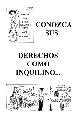 Tenants Booklet (Spanish)