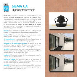 Sistema SISMA CA