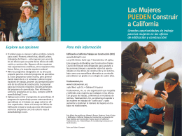 brochure spanish - State Building & Construction Trades Council of