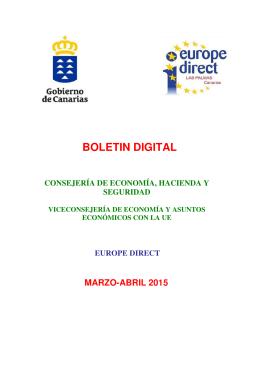 BOLETIN DIGITAL - Gobierno de Canarias