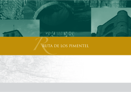 RUTA DE LOS PIMENTEL