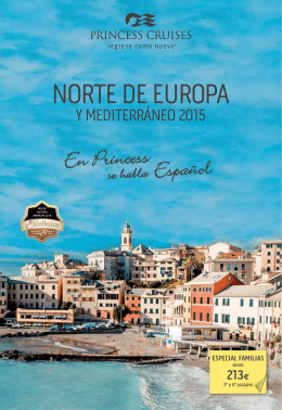 NORTE DE EUROPA - Mundomar Cruceros