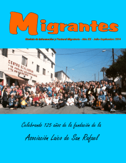 Jul-Sep-14 - Red Casas del Migrante
