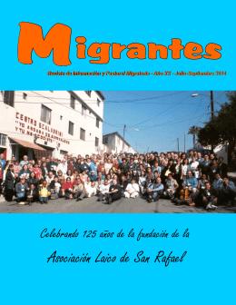 Jul-Sep-14 - Red Casas del Migrante