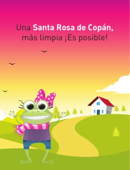 Una Santa Rosa de Copán, más limpia ¡Es posible!