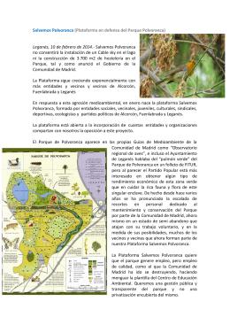 Salvemos Polvoranca (Plataforma en defensa del Parque