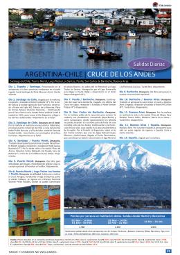 Argentina-Chile: Cruce de los Andes