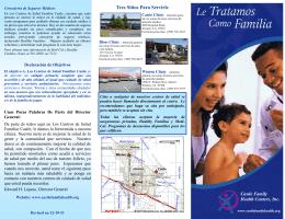 Tres Sitios Para Servirle - Castle Family Health Centers