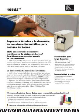 105SL™ - Identifica Sistemas de Integración