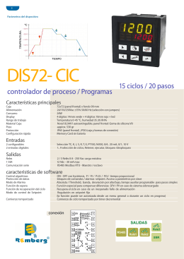 DIS72-CIC Folleto