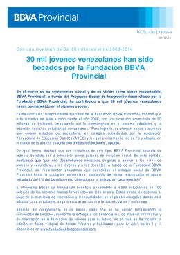 Fundación BBVA Provincial