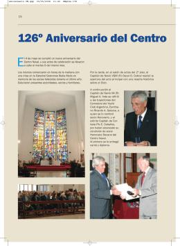 126º Aniversario del Centro Naval