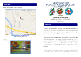 15 y 16 de Mazo de 2014 Los Barrios (Campo de