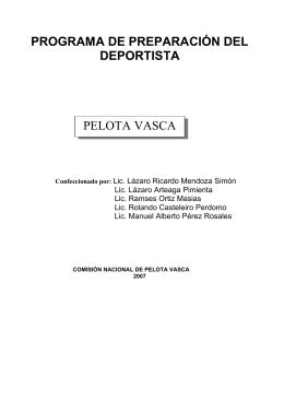 Pelota Vasca