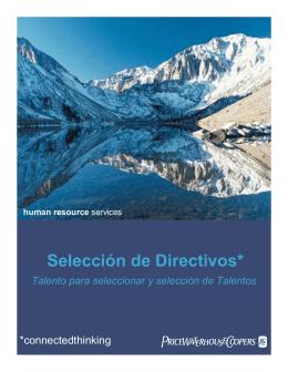 Selección de Directivos