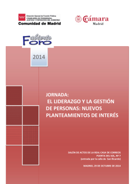 Información - Comunidad de Madrid