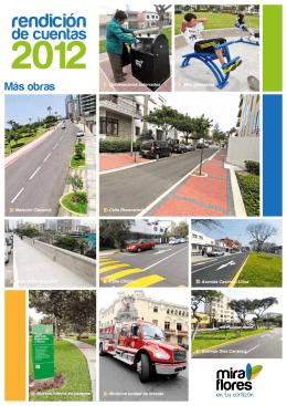 Más obras - Municipalidad de Miraflores