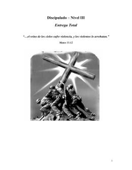 Discipulado Nivel III - Congregación León de Judá