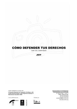 6. ¿cómo defender tus derechos?