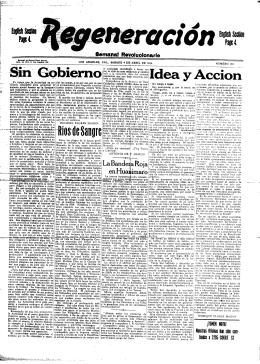 Rios de Sangre - Archivo Digital de Ricardo Flores Magón