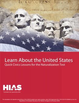 Learn About the United States: Quick Civics Lessons