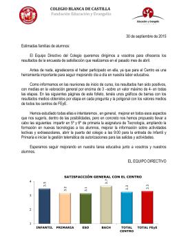 COLEGIO BLANCA DE CASTILLA Fundación Educación y