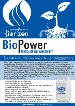 Folleto BioPower