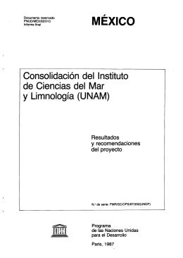 (UNAM): México (misión). - unesdoc