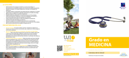Grado en MEDICINA - Universitat Jaume I de Castelló