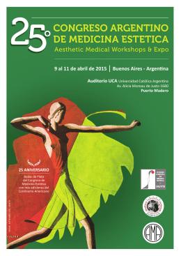 CONGRESO ARGENTINO DE MEDICINA ESTETICA