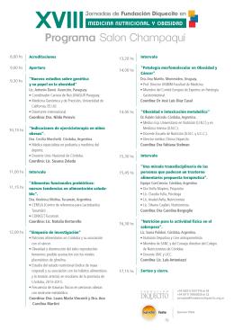 folleto jornadas 2015