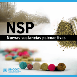 Nuevas sustancias psicoactivas